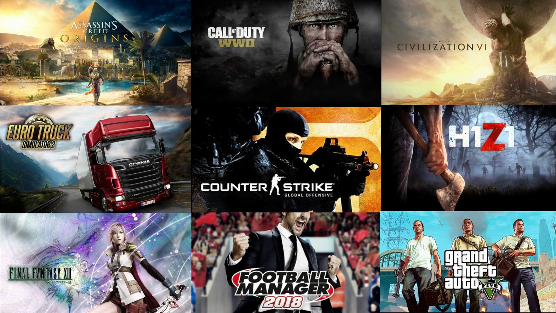 En popüler oyunlar ile keyifli zaman geçirin...